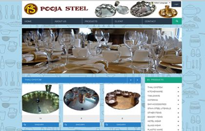 pooja steel